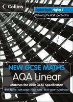 AQA Linear Higher 1 Student Book - New GCSE Maths (Paperback)