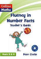 Teacher's Guide Years 3 & 4 - Fluency in Number Facts (Paperback)