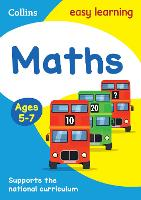 Maths Ages 5-7 - Collins Easy Learning KS1 (Paperback)