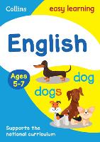 English Ages 5-7: Ideal for Home Learning - Collins Easy Learning KS1 (Paperback)