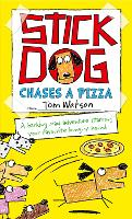 Stick Dog Chases a Pizza (Paperback)