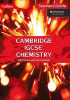 Cambridge IGCSE (TM) Chemistry Teacher's Guide - Collins Cambridge IGCSE (TM) (Spiral bound)