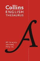 Collins English Thesaurus Paperback edition