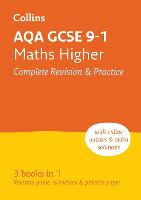 AQA GCSE 9-1 Maths Higher All-in-One Revision and Practice - Collins GCSE 9-1 Revision (Paperback)