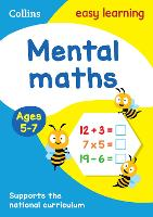Mental Maths Ages 5-7: Ideal for Home Learning - Collins Easy Learning KS1 (Paperback)