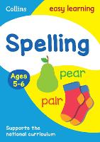 Spelling Ages 5-6: Ideal for Home Learning - Collins Easy Learning KS1 (Paperback)