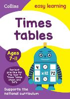 Times Tables Ages 7-11: Ideal for Home Learning - Collins Easy Learning KS2 (Paperback)