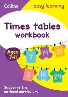 Times Tables Workbook Ages 7-11: New Edition - Collins Easy Learning KS2 (Paperback)
