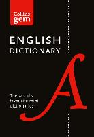 Collins English Dictionary Gem Edition
