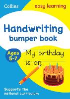Handwriting Bumper Book Ages 5-7 - Collins Easy Learning KS1 (Paperback)