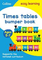 Times Tables Bumper Book Ages 5-7 - Collins Easy Learning KS1 (Paperback)