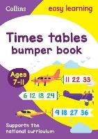 Times Tables Bumper Book Ages 7-11 - Collins Easy Learning KS2 (Paperback)