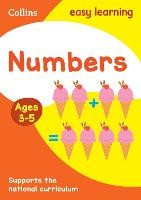 Numbers Ages 3-5: Ideal for Home Learning - Collins Easy Learning Preschool (Paperback)