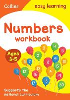Numbers Workbook Ages 3-5: New Edition - Collins Easy Learning Preschool (Paperback)