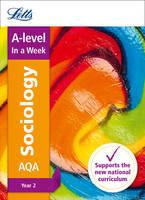 AQA A-level Sociology Year 2 In a Week