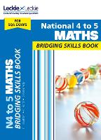 National 4 to 5 Maths Bridging Skills Book: Prepare for National 5 Maths Sqa Exams - CfE Maths for Scotland (Paperback)