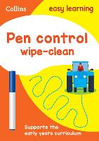 Pen Control Age 3-5 Wipe Clean Activity Book: Ideal for Home Learning - Collins Easy Learning Preschool