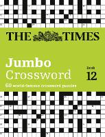 The Times 2 Jumbo Crossword Book 12: 60 of the World's Biggest Puzzles from the Times 2 (Paperback)