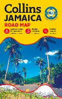 Jamaica Road Map (Sheet map, folded)