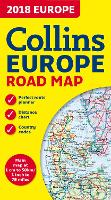 2018 Collins Map of Europe