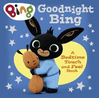 Goodnight, Bing: Touch-and-feel book