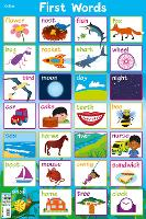 First Words - Collins Children's Poster