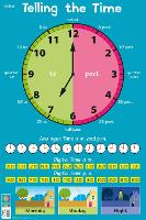 Telling the Time - Collins Children's Poster