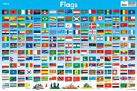 Flags - Collins Children's Poster