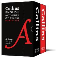 English Dictionary and Thesaurus Boxed Set