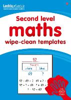 Second Level Wipe-Clean Maths Templates for CfE Primary Maths: Save Time and Money with Primary Maths Templates - Primary Maths for Scotland (Paperback)