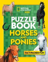 Puzzle Book Horses and Ponies