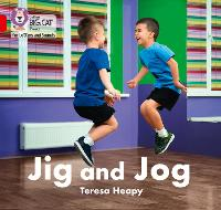 Jig and Jog: Band 02a/Red a - Collins Big Cat Phonics for Letters and Sounds (Paperback)