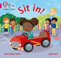 Sit in!: Band 01a/Pink a - Collins Big Cat Phonics for Letters and Sounds (Paperback)