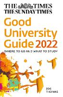 The Times Good University Guide 2022: Where to Go and What to Study (Paperback)