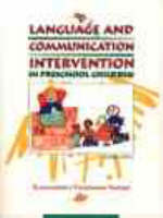Language and Communication Intervention in the Preschool Child (Paperback)