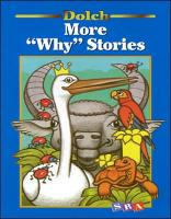 Dolch (R) More Why Stories - DOLCH-OTHER (Paperback)