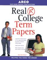 Real A+ College Term Papers (Paperback)