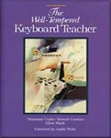 The Well-Tempered Keyboard Teacher (Paperback)
