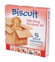 Biscuit Take-Along Storybook Set: 5 Biscuit Adventures - Biscuit (Paperback)