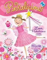 Pinkalicious: Love, Pinkalicious Reusable Sticker Book - Pinkalicious (Paperback)