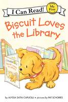 Biscuit Loves the Library - My First I Can Read Book (Paperback)