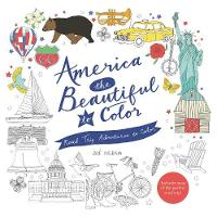 America the Beautiful to Color: Road Trip Adventures to Color (Paperback)