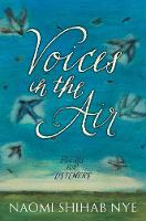 Voices in the Air: Poems for Listeners (Hardback)