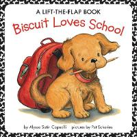 Biscuit Loves School: A Lift-the-Flap Book - Biscuit (Paperback)