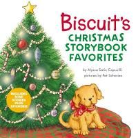 Biscuit's Christmas Storybook Favorites: Includes 9 Stories Plus Stickers! - Biscuit (Hardback)