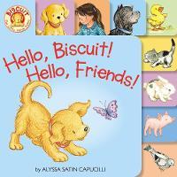 Hello, Biscuit! Hello, Friends! Tabbed - Biscuit (Board book)