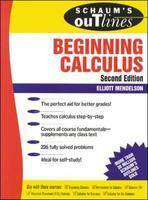 Schaum's Outline of Beginning Calculus (Paperback)