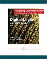 Fundamentals of Digital Logic with VHDL Design with CD-ROM (Paperback)