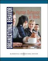 Organizational Behavior: Human Behavior at Work (Paperback)