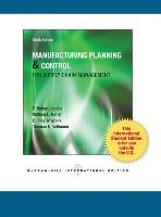 Manufacturing Planning and Control for Supply Chain Management (Paperback)